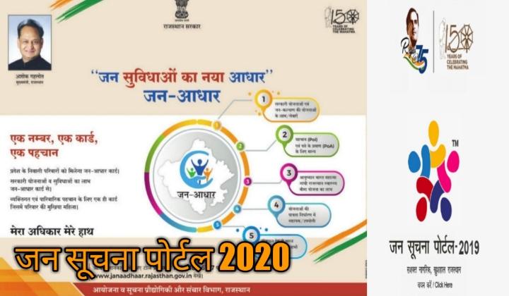 JAN-SUCHANA-PORTAL-2020,janaadhar portal,jan suchana portal rajasthan 2020,janayojana portal,scholarship yojana portal,coparetiv society portal,