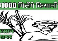 किसानो को खुशखबरी |सरकारी योजना से 31 हजार मिलेगे किसान खातो मे |